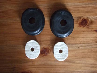 Picture of 70620 & 70621 Clutch & Brake Pedal Grommets & Washers