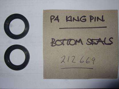 Picture of Kingpin bottom bush seals x 2